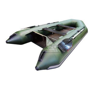 Лодка HUNTERBOAT Хантер 320 ЛК зеленая