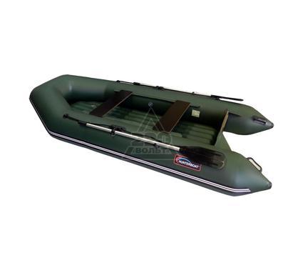 Лодка HUNTERBOAT Хантер 320 ЛН зеленая