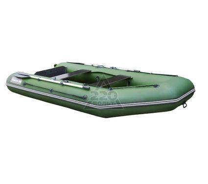 Лодка HUNTERBOAT Хантер 340 зеленая