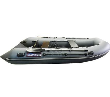 Лодка HUNTERBOAT Хантер 360 серая