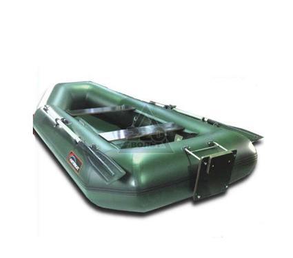 Лодка HUNTERBOAT Хантер 280 ЛТ зеленая Комфорт