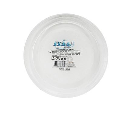 Тарелка для СВЧ EURO KITCHEN EUR GP-245E-LG