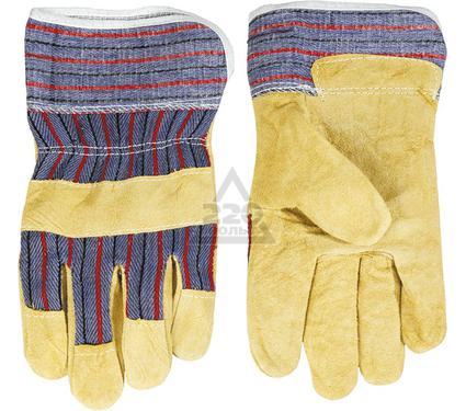 Перчатки спилковые TOPEX 83S110
