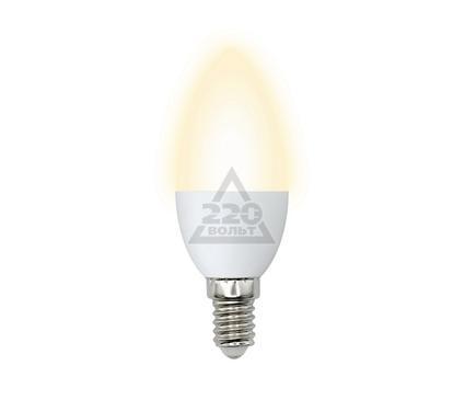 ����� ������������ VOLPE LED-C37-6W/WW/E14/FR/DIM/O