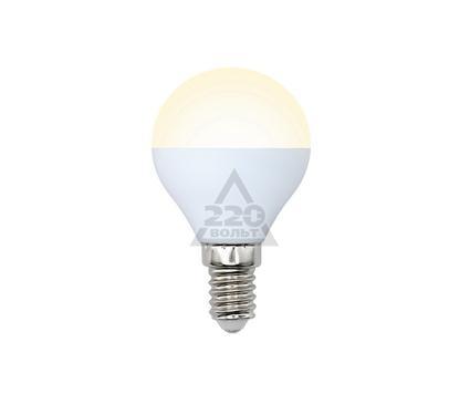 Лампа светодиодная VOLPE LED-G45-6W/WW/E14/FR/DIM/O