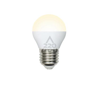 Лампа светодиодная VOLPE LED-G45-6W/WW/E27/FR/DIM/O