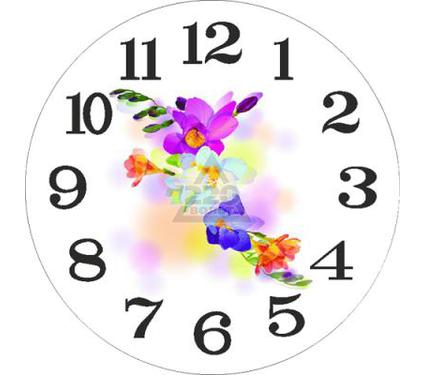 Часы настенные IRIT 632 Цветы