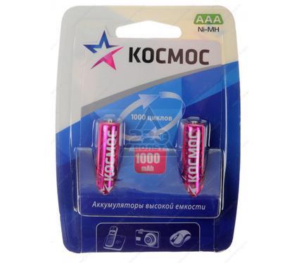 Аккумулятор КОСМОС KOCR03NIMH(1000MAH)