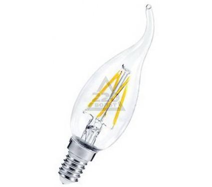 Лампа светодиодная ASD LED-СВЕЧА НА ВЕТРУ-PREMIUM 5.0Вт 160-260В Е14 4000К