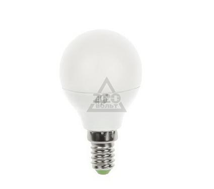 Лампа светодиодная ASD LED-ШАР-standard 5.0Вт 160-260В Е14 3000К