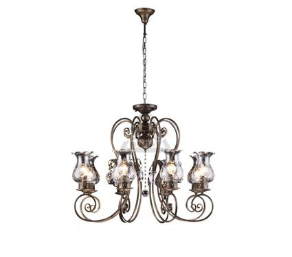 Люстра ARTE LAMP PALERMO A2053LM-8BR