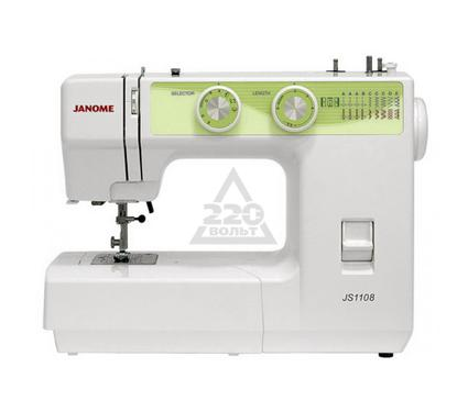 Швейная машинка JANOME JS1108  9операций петля п/а мягкий чехол
