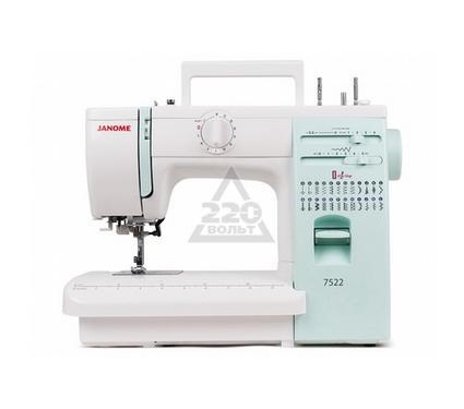 Швейная машинка JANOME 7522  23операций петля авт. регул. давления мет.корпус жесткий чехол