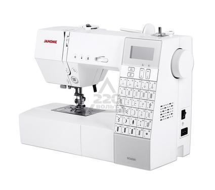 Швейная машинка JANOME DC6030  30операций 3вида петель. гор.челнок LCDэкран LEDосв.