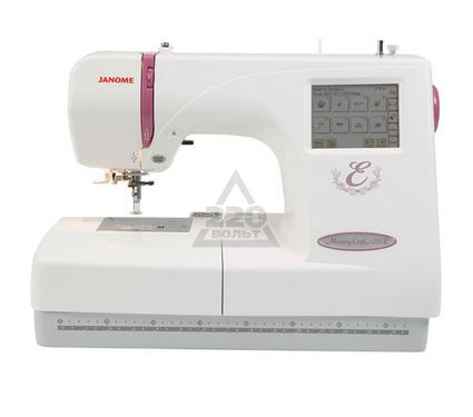 Швейная машинка JANOME Memory Craft 350E  вышивальная 6шрифтов (3 русских) 90 встр. рисунков
