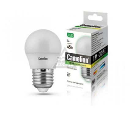 Лампа светодиодная CAMELION LED5-G45/830/E27