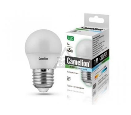 Лампа светодиодная CAMELION LED5-G45/845/E27