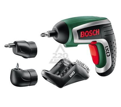 Отвертка аккумуляторная BOSCH IXO IV Set