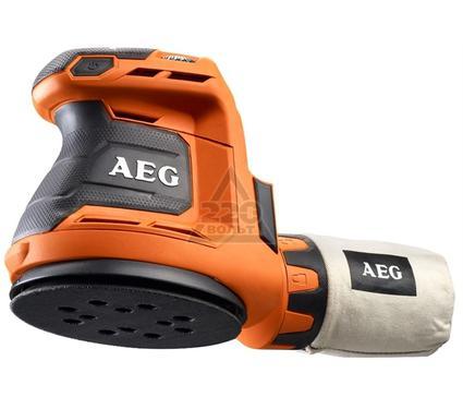 Машинка шлифовальная орбитальная (эксцентриковая) AEG 451086(BEX18-125-0)