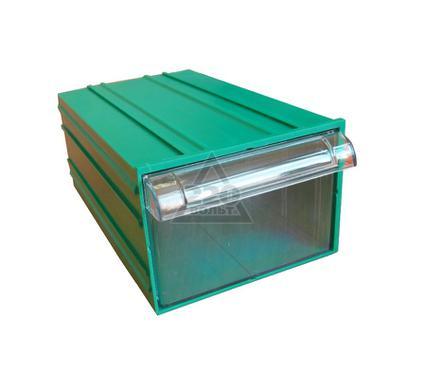 Короб СТЕЛЛА С-2 зеленый/ прозрачный