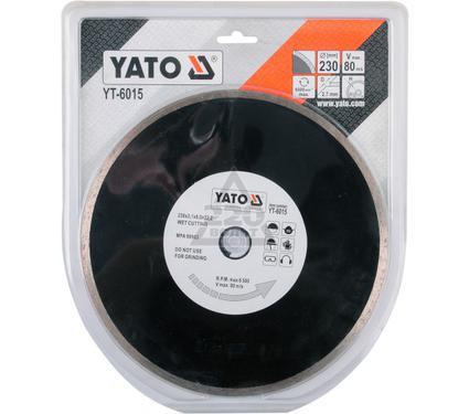 Круг алмазный YATO YT-6015