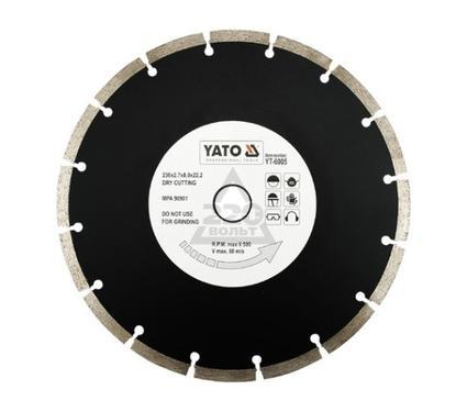 Круг алмазный YATO YT-6004
