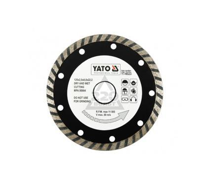 Круг алмазный YATO YT-6023