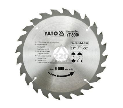 Круг пильный твердосплавный YATO YT-6060