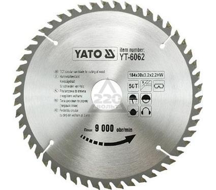 Круг пильный твердосплавный YATO YT-6062