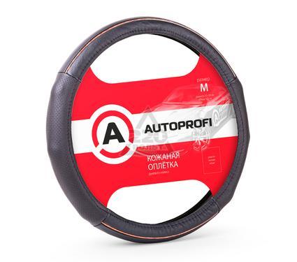 Оплетка AUTOPROFI AP-1060 BK/BK (M)
