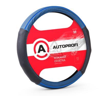 Оплетка AUTOPROFI AP-1060 BK/BL (M)