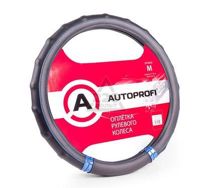 Оплетка AUTOPROFI AP-1410 BK/BL (M)