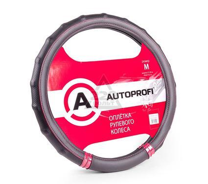 Оплетка AUTOPROFI AP-1410 BK/RD (M)