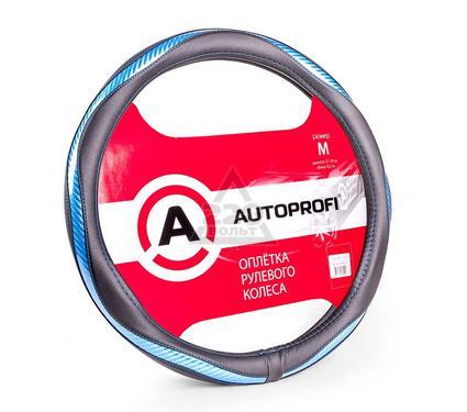 Оплетка AUTOPROFI AP-1413 BK/BL (M)