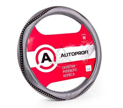 Оплетка AUTOPROFI AP-1414 BK/RD (M)