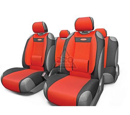 Чехол на сиденье AUTOPROFI COM-905T BK/RD