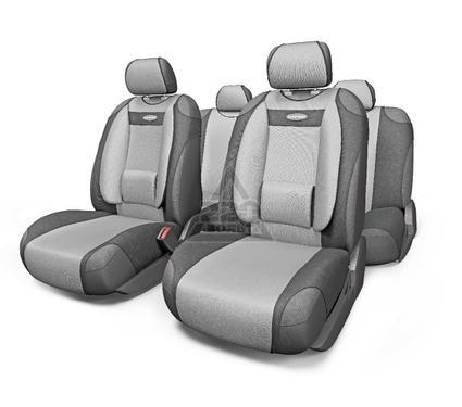 Чехол на сиденье AUTOPROFI COM-905T D.GY/L.GY
