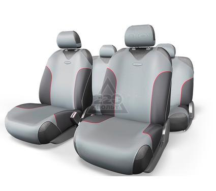 Чехол на сиденье AUTOPROFI FOR-802 D.GY/L.GY