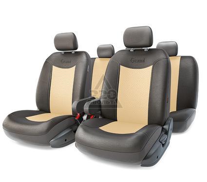 Чехол на сиденье AUTOPROFI GND-1305GF BK/L.BE