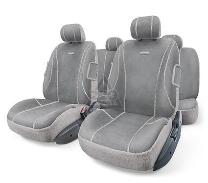 Чехол на сиденье AUTOPROFI SHP-905 D.GY/L.GY (M)