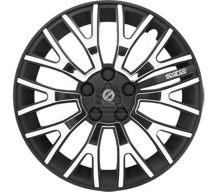 Колпаки на колёса SPARCO SPC/WC-1350U BK/CHROME (14)