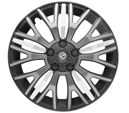 Колпаки на колёса SPARCO SPC/WC-1350X BK/GY/SILVER (15)