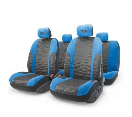 Чехол на сиденье AUTOPROFI TRL-1105 BK/BL (M)