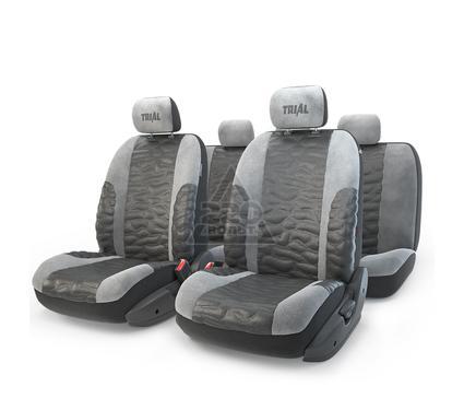 Чехол на сиденье AUTOPROFI TRL-1105 BK/GY (M)