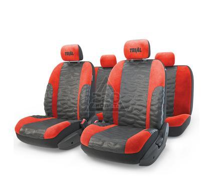 Чехол на сиденье AUTOPROFI TRL-1105 BK/RD (M)