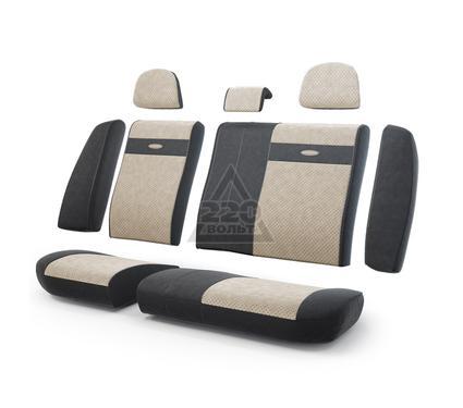 Чехол на сиденье AUTOPROFI TRS-002 BK/L.BE