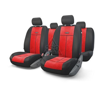 Чехол на сиденье AUTOPROFI TT-902V BK/RD