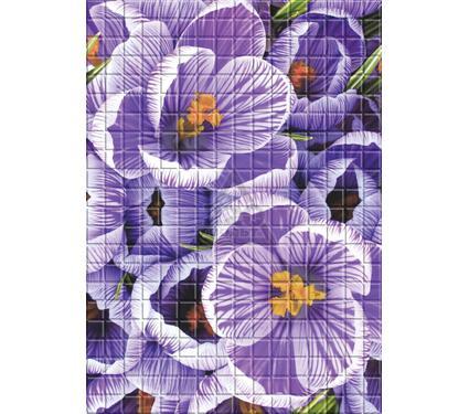 Декор керамический ROVESE (CERSANIT) MF2M221DT Motive фиолетовый