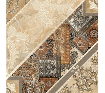Плитка напольная INTERCERAMA 434384032 Carpets тёмно коричневый