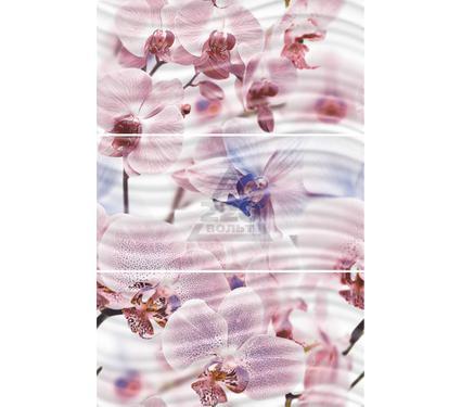 Декор керамический GLOBALTILE 1604-0032 Fortuna розовый